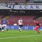 Il Napoli affonda contro l'Atalanta, seconda sconfitta consecutiva al San Paolo