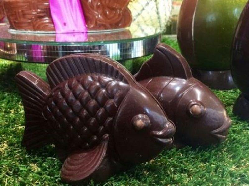 Pesci di cioccolato ( source: Pinterest )