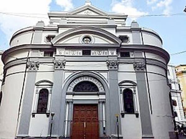 La facciata della Chiesa di San Pietro ad Aram