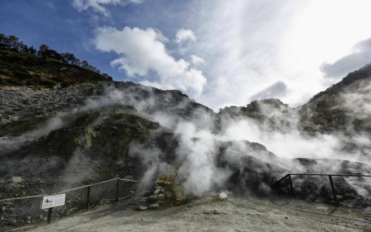 Campi Flegrei nati da due eruzioni