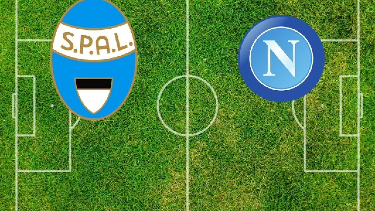 Spal Napoli match di fine campionato, la spuntano gli azzurri con Allan e Mario Rui