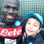 Il sogno di Gennarino è diventato realtà, con lui anche la piccola Giusy al centro sportivo del Napoli