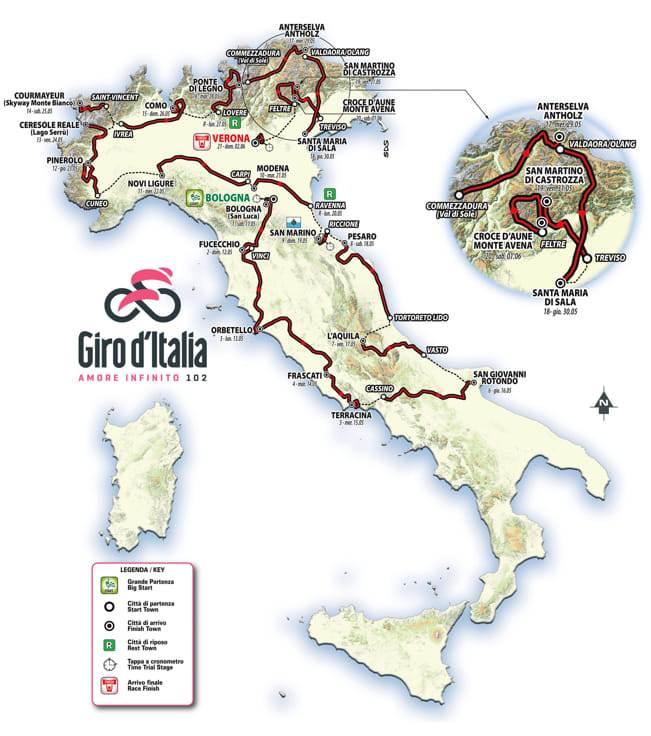Giro d'Italia? Meglio delle Due Sicilie