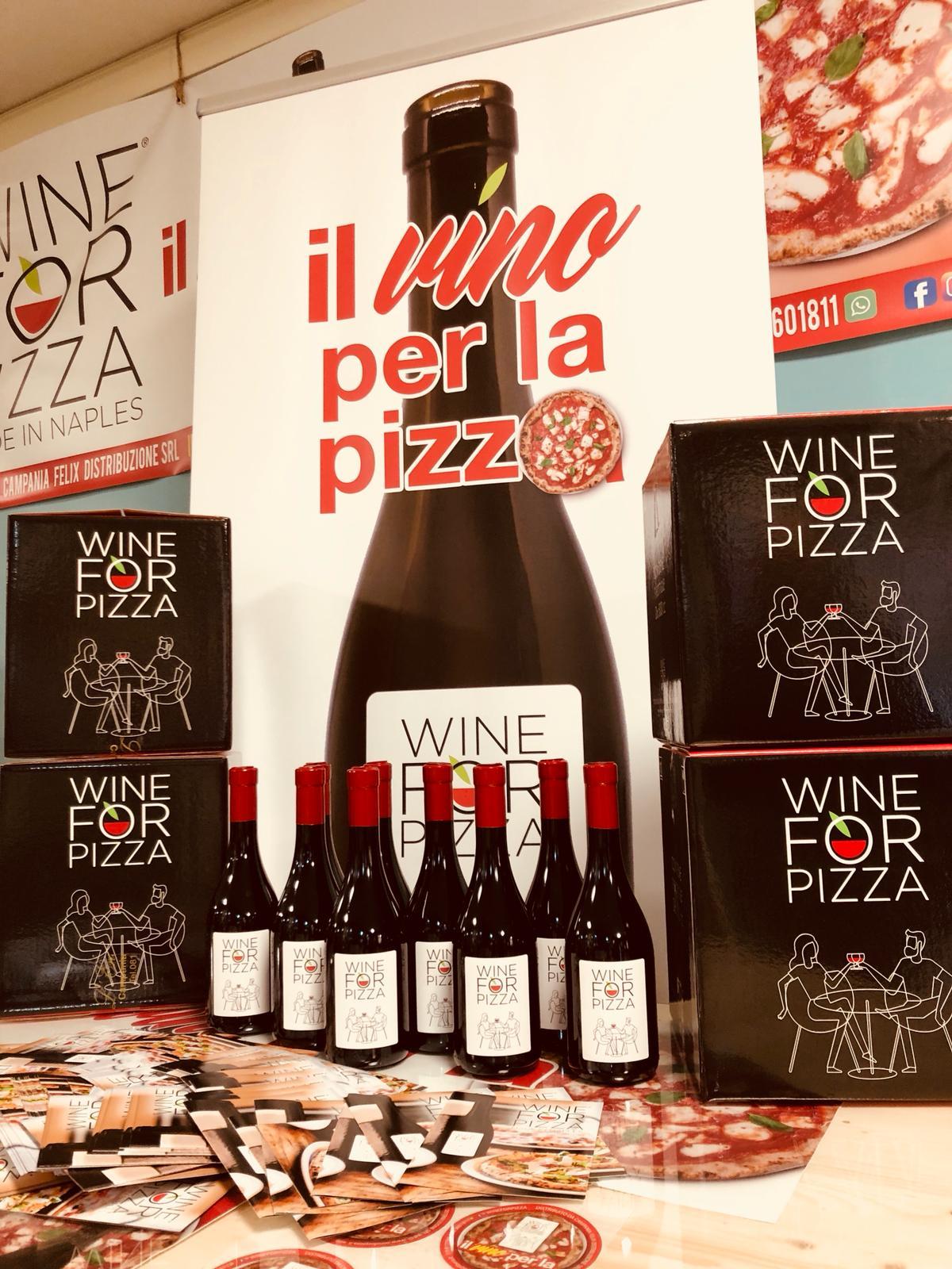 Frizzante e rigenerante: nasce il vino per la pizza