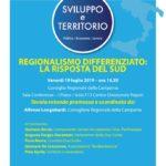 Regionalismo differenziato: la risposta del Sud