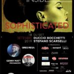 "COLOUR INSIDE E' ""SOPHISTICATED"":ESCLUSIVA ONE NIGHT DI MUSICA, ARTE, DANZA MODA E FOODCON GREG REGA MERCOLEDI 18 SETTEMBRE AL POST APERITIF CLUB"