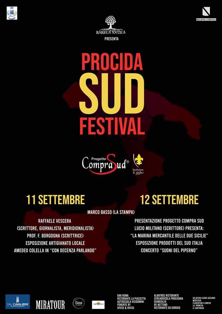 """A piazza Marina Grande si è svolto il """"Procida Sud Festival"""" l'11 e 12 settembre"""