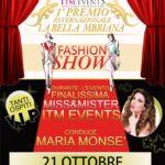 """Si terrà il 21 ottobre alle 20:00 a Quarto (NA) la prima edizione del Premio Internazionale """"La bella mbriana""""."""