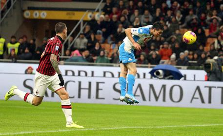 Ancora un brutto pari, tra Milan e Napoli finisce 1 a 1, adesso la situazione inizia a diventare critica