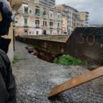 Maltempo Napoli: crolla Vico Molo all'Arenella
