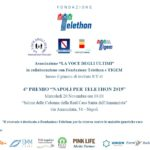 Torna il Premio Napoli per Telethon