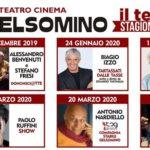 """Al via la nuova grande stagione del Teatro Gelsomino di Afragola.   Il 15 novembre si alza il sipario con lo spettacolo:   """"Appunti di Viaggio""""di Lina Sastri"""