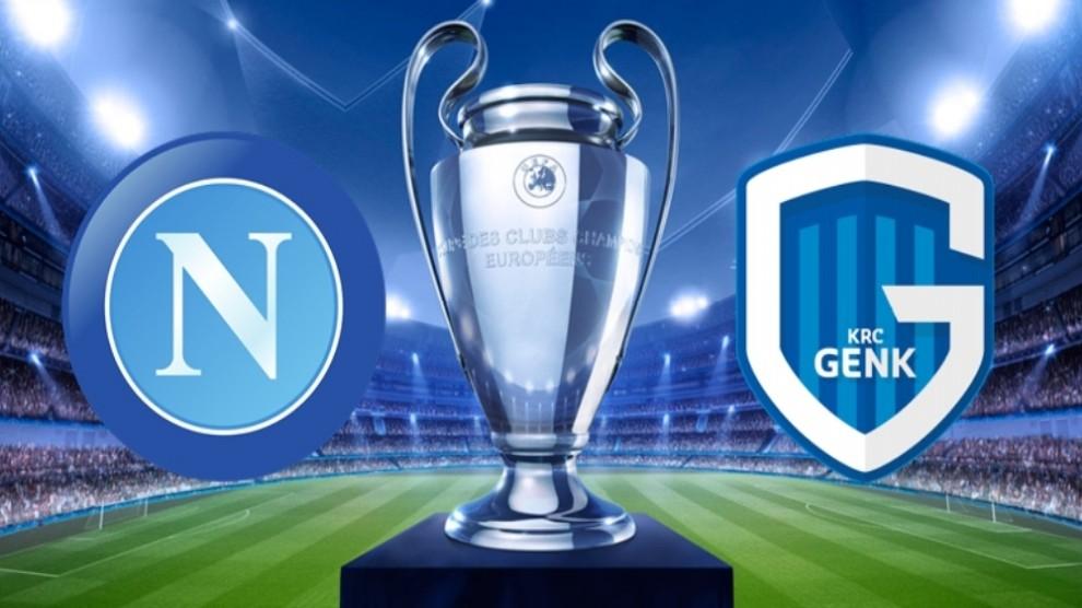 Il Napoli ritorna a vincere, batte il Genk 4 a 0 e vola agli ottavi di Champions