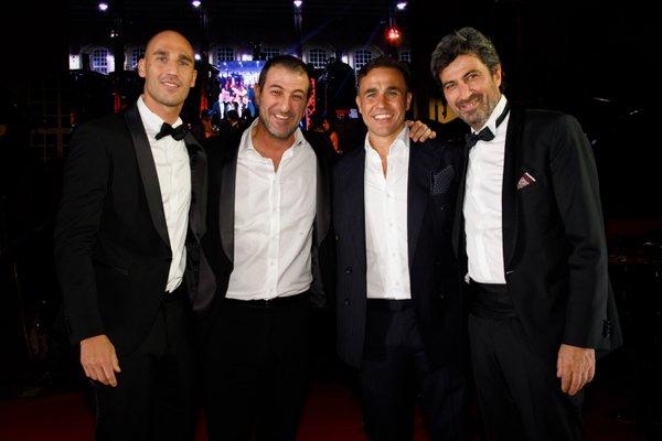 """Grande successo per la quarta edizione del Galà Charity Night promosso dalla Fondazione Cannavaro Ferrara andato in scena ieri a Pietrarsa La raccolta fondi andrà a favore del progetto """"Un'ambulanza per la vita""""."""