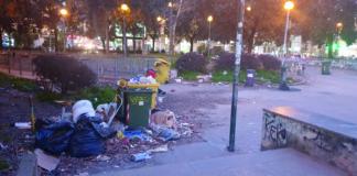I giardini di piazza Medaglie d'oro