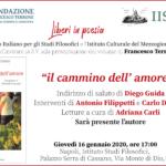 """Francesco Terrone presenta  """"Il cammino dell'amore"""""""