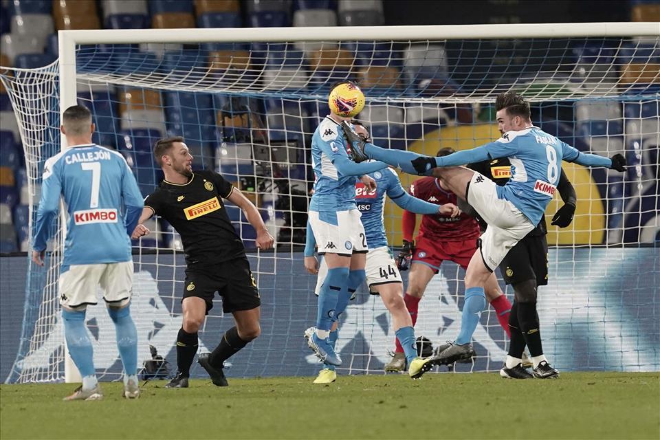 Napoli: ancora una sconfitta al San Paolo, l'Inter passa per 1-3