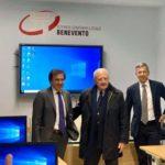 All'Asl Benevento conferenza stampa sulla Organizzazione dell'Emergenza Territoriale . Volpe ha  ringraziato tutti gli operatori.