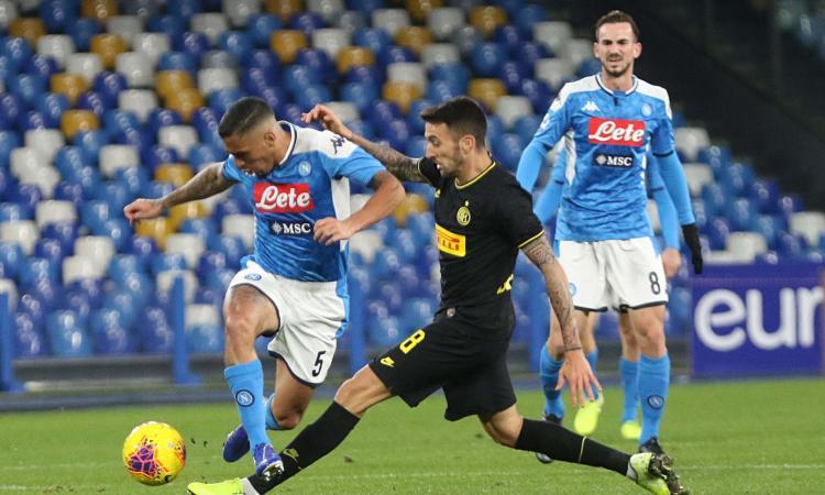 Coppa Italia: in semifinale sarà Inter-Napoli