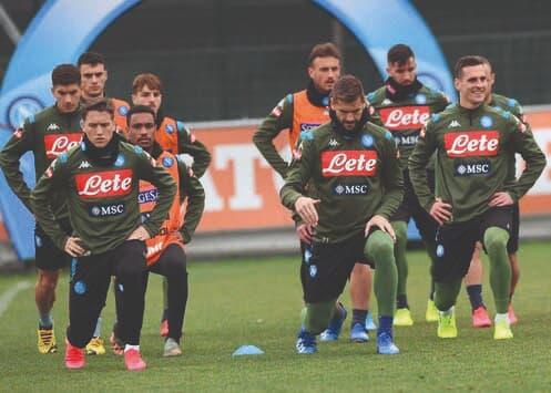 Gli azzurri preparano il match di Marassi contro la Sampdoria