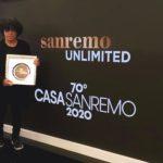 BLANDIZZI A  CASASANREMO RICEVE IL PRESTIGIOSO PREMIO NATIONAL VOICE AWARDS