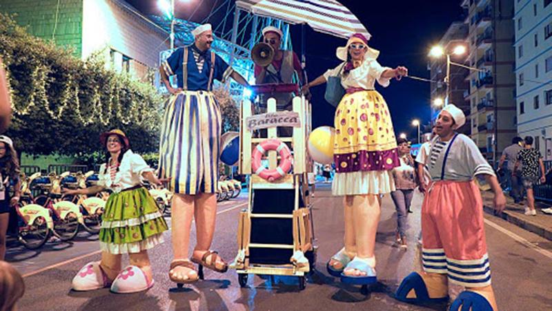 Carnevale all'Edenlandia con la Baracca dei Buffoni