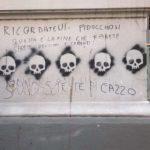 """Scritte antisemite al Vomero: """"Sarete bruciati e cremati"""""""