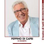 Peppino di Capri in concerto al teatro Gelsomino per la sera di San Valentino.