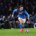 Napoli-Barcellona: Fabian dà spettacolo, Mertens  fa un gran gol