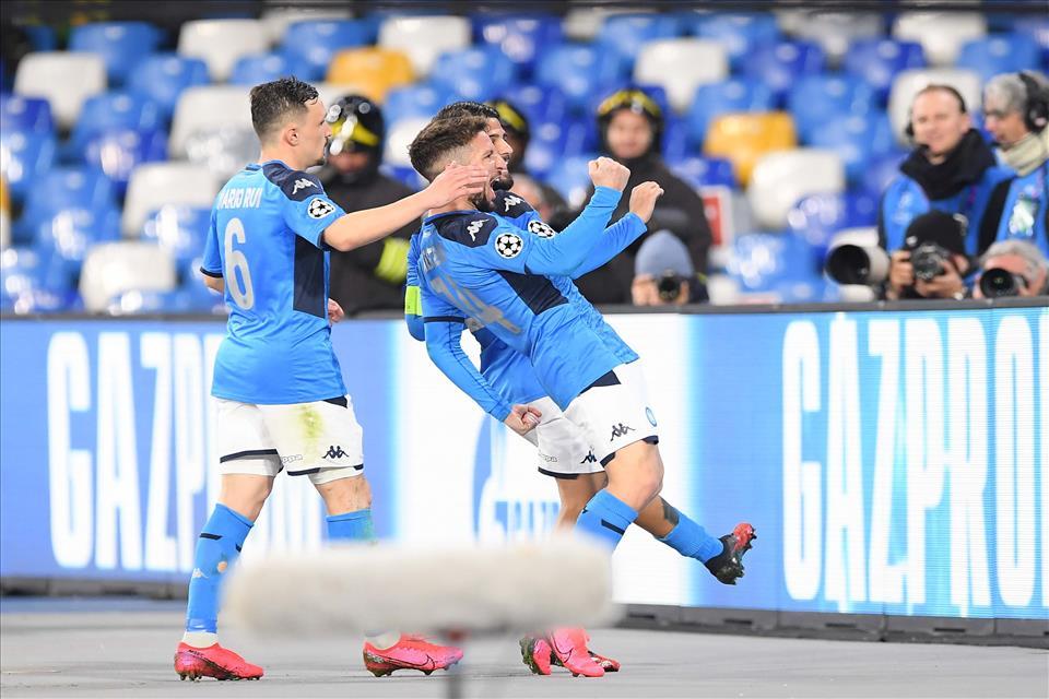 Un grande Napoli sfiora l'impresa, al San Paolo finisce 1 a 1