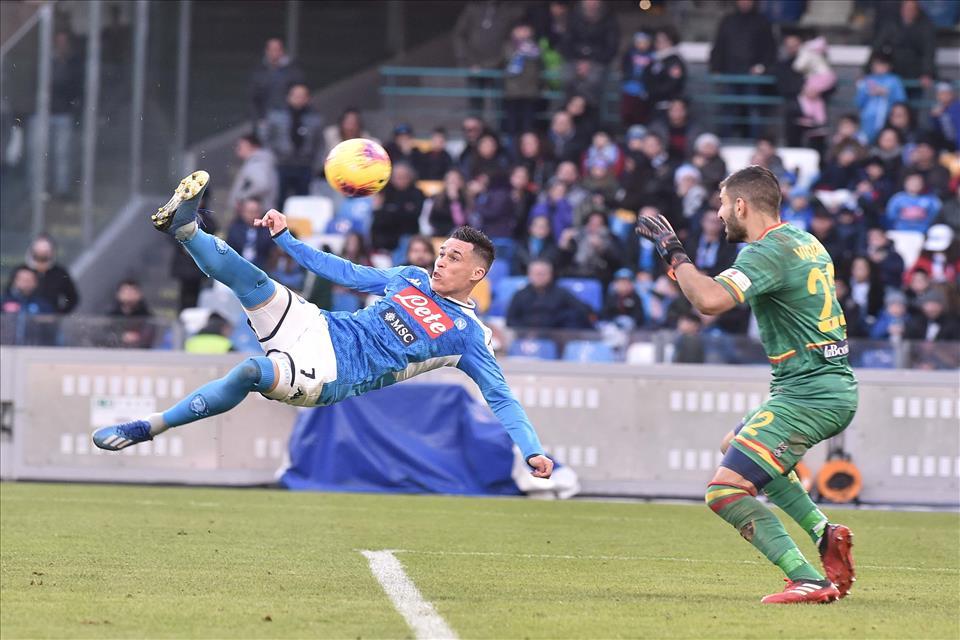 Napoli – Lecce: 2 a 3 clamoroso passo falso degli azzurri