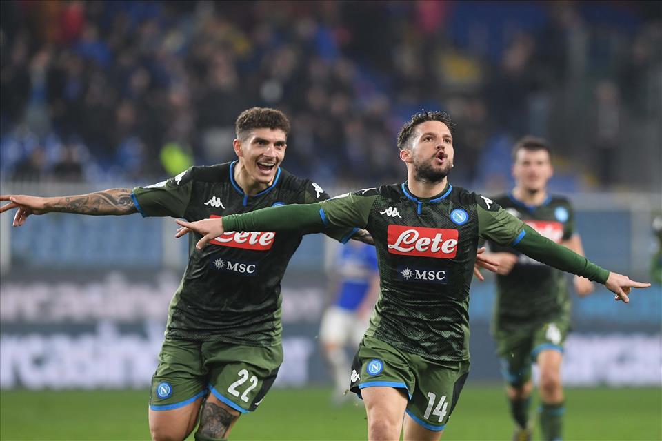 Sampdoria – Napoli: 2-4 al Ferraris bene ma non benissimo