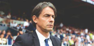 Pippo Inzaghi sulla panchina del Benevento