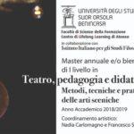 Università: Teatro tra corpo e formazione. Esplorazione del sé e viaggio verso l'alterità