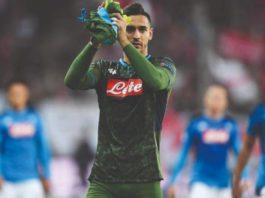 Alex Meret, giovane portiere del Napoli