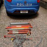 Paletti abusivi per la sosta, blitz della Polizia alla Duchesca