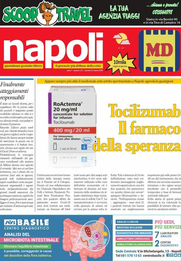 Sfoglia il giornale di oggi martedì 10 marzo