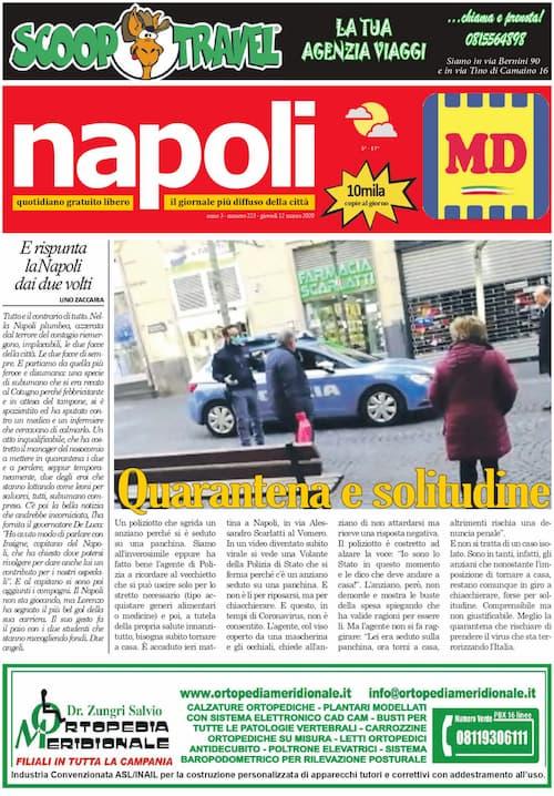 Sfoglia il giornale di oggi giovedì 12 marzo