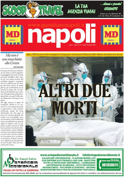Sfoglia il giornale di oggi lunedì 16 marzo