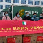 Il grande cuore della Cina: da Zhengzhou 50.000 mascherine per Napoli
