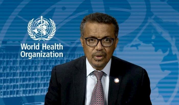 il direttore generale dell'Organizzazione mondiale della sanità (Oms) Tedros Adhanom Ghebreyesus