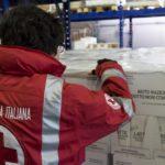 Croce Rossa Napoli, distribuiti viveri a 11000 persone per l'emergenza Coronavirus
