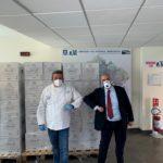 Mennella, 600 colombe per gli operatori sanitari dell'Ospedale del Mare