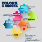 """CASORIA, SUCCESSO PER L'INIZIATIVA SOLIDALE """"COLORA IL CORONA"""""""
