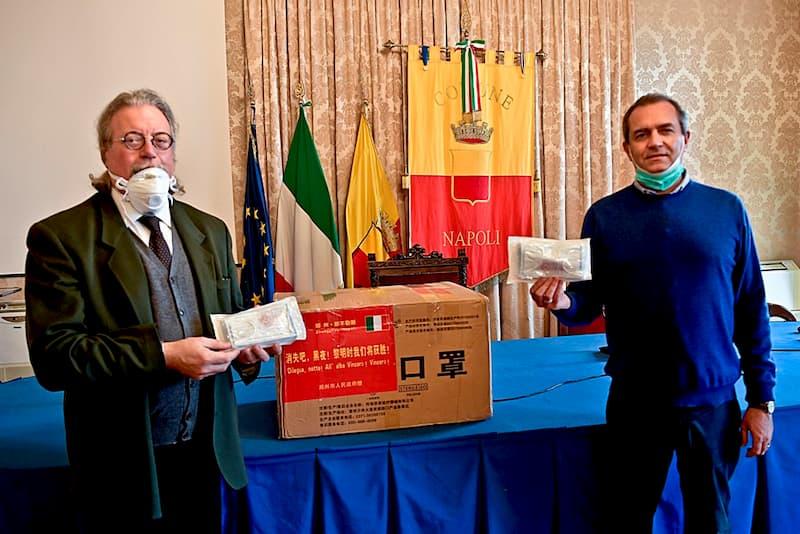 Silvestro Scotti e Luigi de Magistris