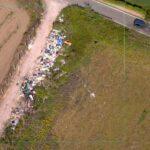 Ambiente, sequestrate nel Napoletano aree abusive con cumuli di rifiuti per circa 6500 mq