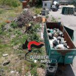 Scisciano, scoperta discarica abusiva in un capannone, tra i rifiuti anche eternit: 2 imprenditori denunciati