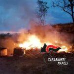 Varcaturo, incendiavano rifiuti invece di smaltirli: denunciati 3 agricoltori