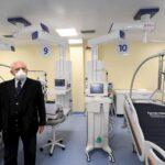 """Boscotrecase, nuovo reparto di terapia intensiva. De Luca: """"Un'altra prova di efficienza della Campania"""""""