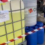 San Giorgio a Cremano, produceva igienizzanti spacciati per disinfettanti: denunciata